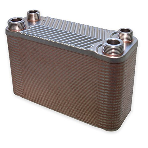 Scambiatore di calore in acciao inox Hrale 50 dischi max. 90 kw Scambiatore termico lamellare