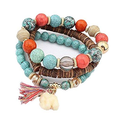 nroom 1pcs azules mujeres Pino piedra joyas europeas y americanas Mode bonitas...