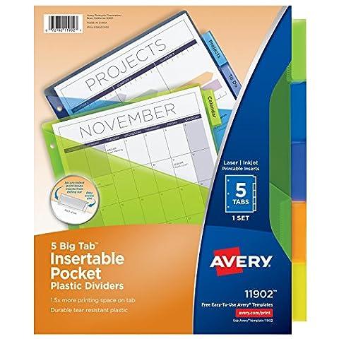 Avery 11902 divider -