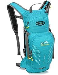 Skysper 12L Nylon Resistente al agua Deporte al aire libre Senderismo Trekking Mochila viaje Camping Deportiva Morral