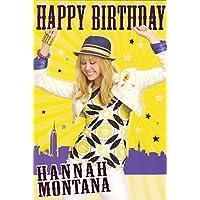 """Hannah Montana - Birthday Card 9x6"""" by Logo Cards"""