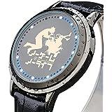 SKYLYNN Anime NO GAME NO LIFE Cosplay LED con pantalla táctil reloj \ reloj resistente al agua \ Ver regalos de cumpleaños (C)