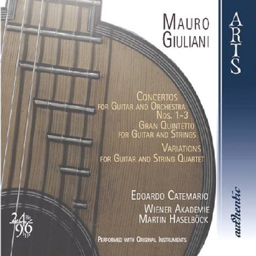 Giuliani: Concertos For Guitar