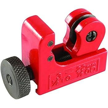 Mini Tube Cutter, GOCHANGE 3-22mm PVC Tube Cutter / 1/8inch-7/8inch OD Slice Copper Pipe Cutter Aluminum Tubing Pipe Cutting Tool