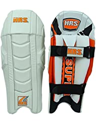 HRS super professionnel en cuir PU Poids léger droit Wicket Keeping Leg Guard