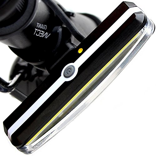 cf16ce6cff8 FreeMaster Super LED Bike Rear Light USB Rechargeable Cycling Bicycle  Lights Waterproof Bike Tail Light (White) - Buy Online in Oman.