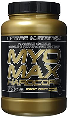 Scitec Nutrition MYO Max Hardcore Anabolic Muscle and Performance Enhancer Powder - 1400g, Creamy Yogurt Cookie by Scitec Nutrition