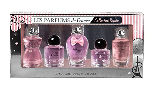 Charrier Parfums Francia Collection Fashion caja 5 agua