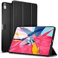 """ESR - Funda para iPad Pro 11 2018 Auto-Desbloquear Función de Soporte Smart Cover Silicona Ligera Compatible con Apple iPad Pro de 11"""" 2018, Negro"""