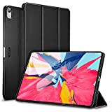 ESR Case for iPad Pro 11 inch 2018 Release, Lightweight Smart Case, Trifold Stand, Microfiber Lining, Hard Back Cover, [Apple Pencil Charging not Supported], Black