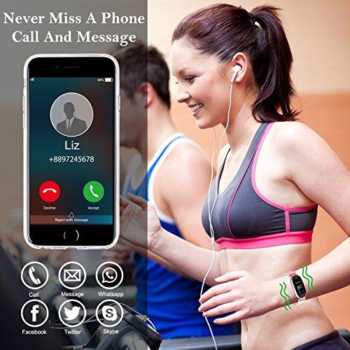 Zoom IMG-3 wowgo fitness tracker donna cardiofrequenzimetri