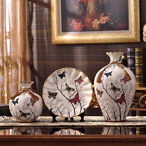 Mon5f Home Keramik Bodenvase Wohnzimmer Für Mittelstücke Wohnzimmer Weihnachten Geburtstag Hochzeit Geschenk Desktop Home Decor