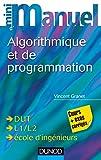 Image de Mini manuel d'algorithmique et programmation (Informatique)