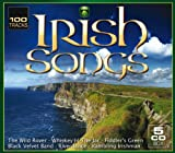100 Irish Songs (5er CD-Box with 100 tracks - The wild Rover, Whiskey in the jar, Fiddler's green, Black velvet band, Riverdance, Rambling Irishman, and many more)