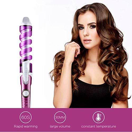 Lockenwickler Magie Spirale Lockenstab Schnelle Heizung Lockenstab Frauen Elektrische Haar Styler Pro Styling Werkzeug -