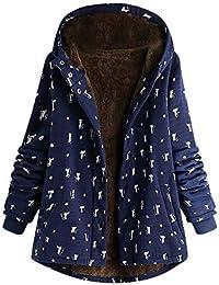 dc74161233db Amazon.fr   chat - Manteaux et blousons   Femme   Vêtements