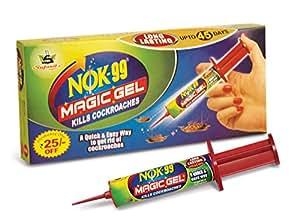 Sujanil Chemo Industries NOK 99 Magic Gel - Kills Cockroaches (Pack Of 2)