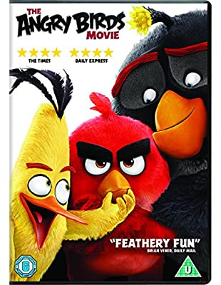 The Angry Birds Movie [DVD] [2016]