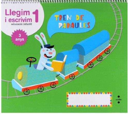 Llegim i escrivim 1. Educació infantil, 3 anys. Tren de paraules - 9788466134293