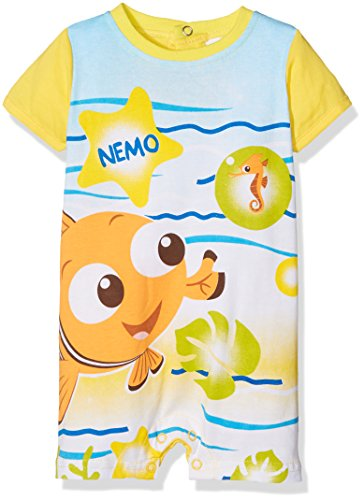 Disney nemo summer fun, pagliaccetto bimba, yellow, 18 mesi