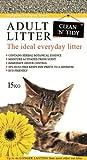 Clean-n-Tidy Adult Litière quotidienne pour chat adulte 15 kg