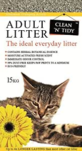 Clean-n-Tidy Adult Everyday Cat Litter, 15 Kg