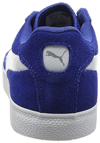Puma Match Vulc 2, Baskets Basses Sport Unisexes, 38 Eu Blue (true Blue-puma White 01)