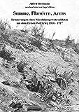 Somme, Flandern, Arras: Erinnerungen eines Maschinengewehrsoldaten aus dem Ersten Weltkrieg 1916 - 1917 - Ingo Möbius, Alfred Hermann