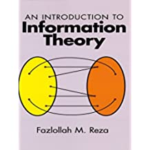 An Introduction to Information Theory (Dover Books on Mathematics)