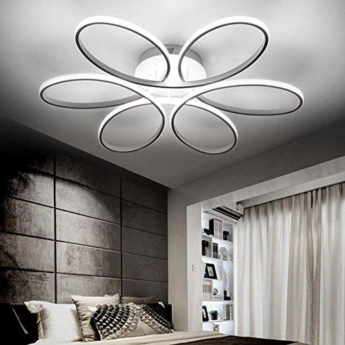 LED Lámparas de techo dormitorio de cama de matrimonio dormitorio de cama Romantica cálida Camera de bodas la niña moderna iluminación de salón moderna Luces de techo , White light