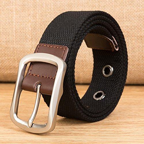 LLZZPPD Cinturón De Lona/Cinturón De Lona Cinturones