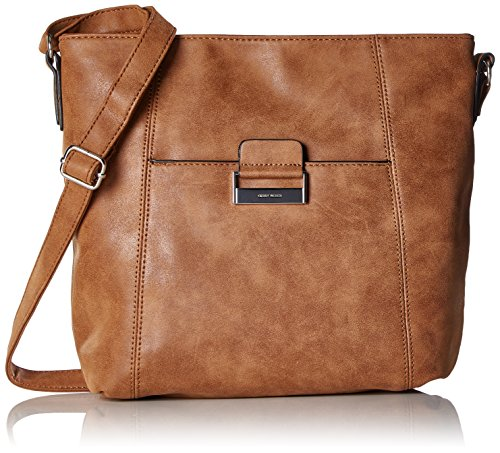 GERRY WEBER - Be Different Shoulder Bag V, L, Borse a Tracolla Donna Marrone (Cognac)
