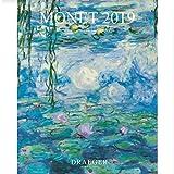 DRAEGER Lot de 3 Petits calendrier Monet 2019 Format 18 x 14,5 cm
