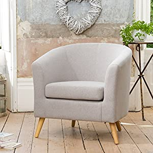 Sofa Collection Manche Fabric Tub Chair (Lilac)