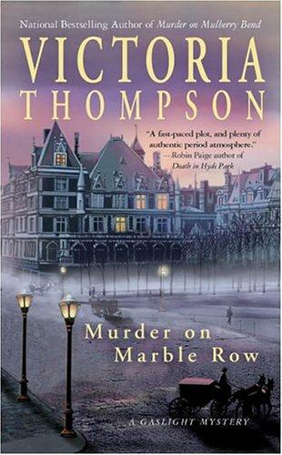 Murder on Marble Row (A Gaslight Mystery)