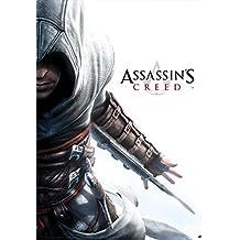 Póster Assassin's Creed/Credo de los Asesinos Altair Hidden Blade/Cuchillo escondido (61cm x 91,5cm) + 2 marcos transparentes con suspención