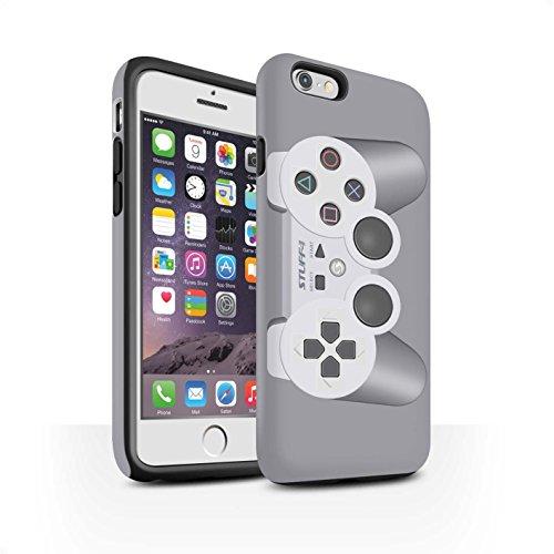 STUFF4 Matte Harten Stoßfest Hülle / Case für Apple iPhone SE / Nintendo Game Boy Muster / Spielkonsolen Kollektion Playstation PS1