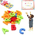 OriGlam 80pcs Magnetic Letters and Numbers for Toddlers Refrigerator Magnet- Educating Child In Fun