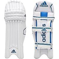 adidas Libro 4.0 - Bloc de bateo de críquet, Color Blanco, Negro y Azul, tamaño RHLM