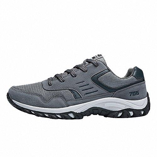 Ben Sports Chaussures de running sur route homme Chaussures de sport homme Baskets mode homme Gris