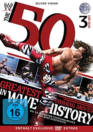 WWE - 50 Greatest Finishing Moves In WWE History [3 DVDs]