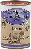 Landfleisch Wolf Lamm 400g Dose Hunde Nassfutter