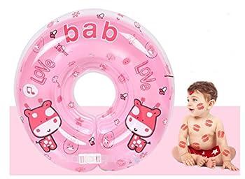 Infant Schwimmen Schwimmring Aufblasbar Ring-sicherheit, Gzqes, Sitz Aufblasbar Pool Schwimmen Ring Für Bebe, Rosa 0
