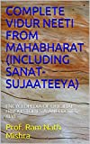 COMPLETE  VIDUR NEETI  FROM MAHABHARAT (INCLUDING SANAT-SUJAATEEYA): ENCYCLOPEDIA OF ORIGINAL HINDU STORIES & ANECDOTES - XLVI
