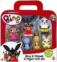Bing 3519 Bing & Vänner Figurer, Flerfärgad,