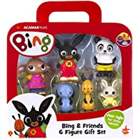 Bing-& Friends 6 Figura de Regalo, Color Set (Golden Bear Products Ltd 3519)