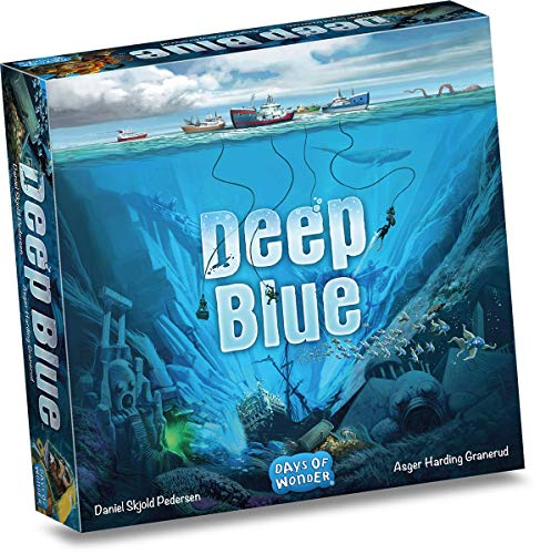 Days of Wonder DOWD0017 Deep Blue, Mehrfarbig, bunt