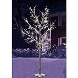 Winter-Leuchtbaum 120 LEDs beschneit 1,80m