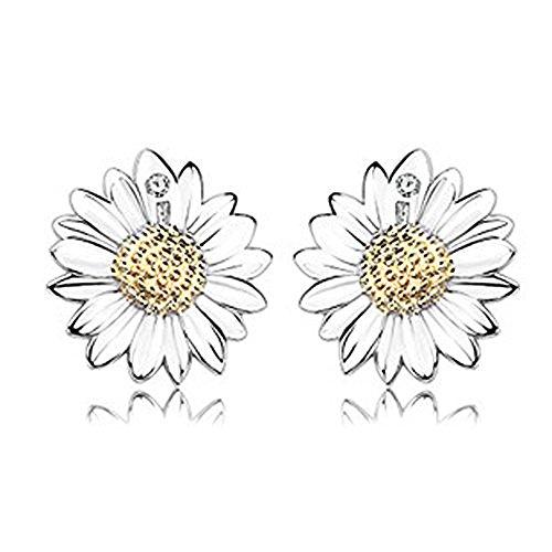 findout rosé vergoldet/Sterling Silber Cubic Zircons Goldfisch Ohrringe. Geschenk für Frauen Mädchen (F617)