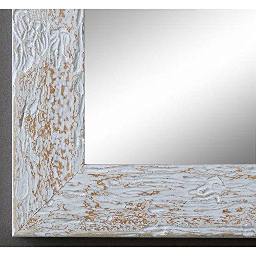 Online Galerie Bingold Spiegel Wandspiegel Badspiegel - Parma Beige 3,9 - handgefertigt - 200 Größen zur Auswahl - Modern, Vintage, Shabby - 50 x 100 cm AM
